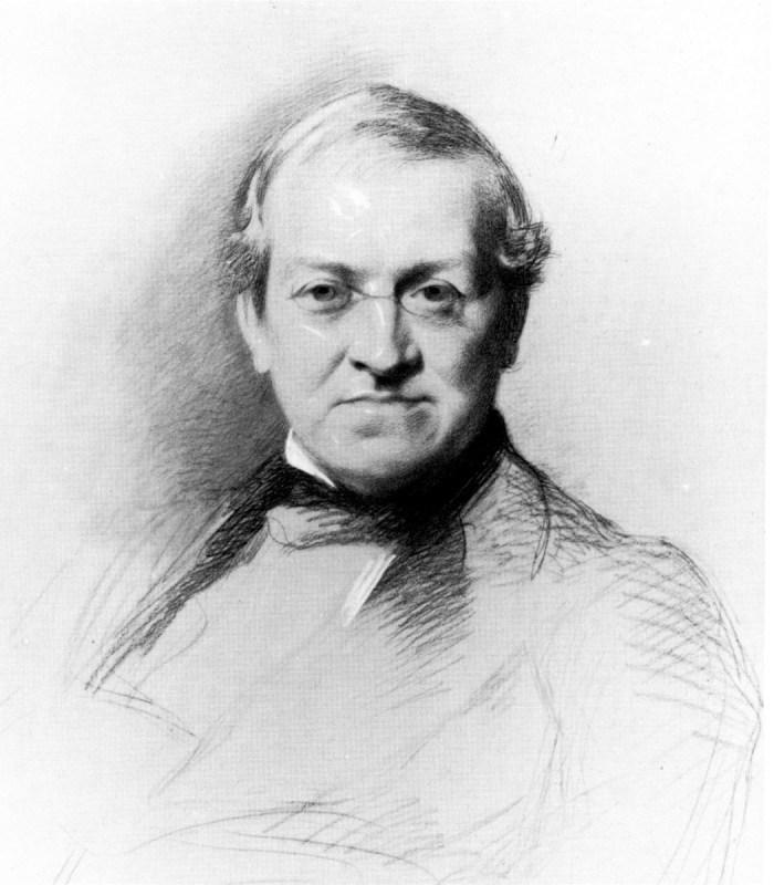 Portrait de Charles Wheatstone, inventeur de la stéréoscopie