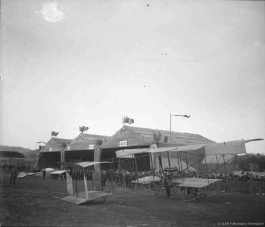 Chamiers, premier meeting aérien de Périgueux