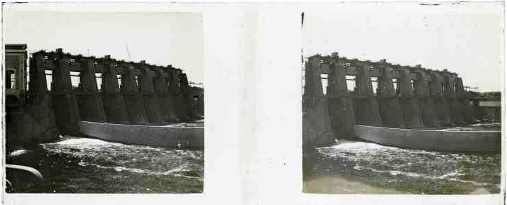 Le barrage de Tuilières