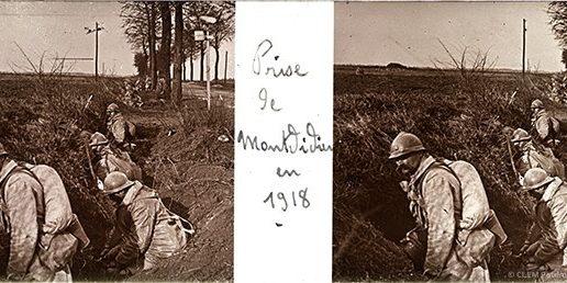 images stéréoscopiques Brentano's Première Guerre mondiale 1914-1918
