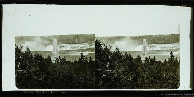 Images stéréoscopiques plaques de verre Ferrier père fils & Soulier, Léon & Lévy Successeurs Niagara