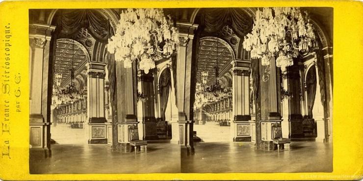 Images stéréoscopiques Gaudin Charles Paris Hôtel de Ville