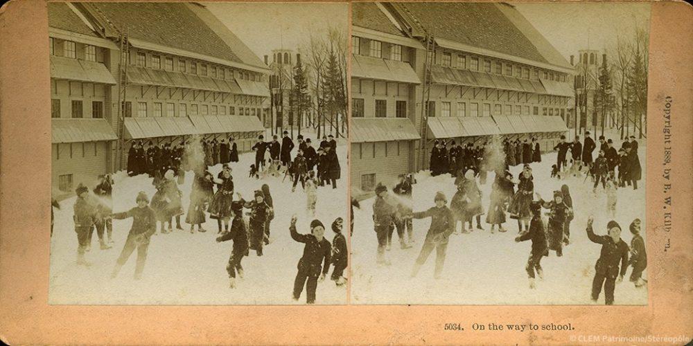 Images stéréoscopiques Kilburn Brothers Littleton 1889