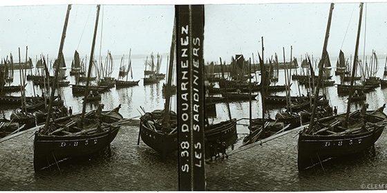 Images stéréoscopiques Mattey A. Douarnenez