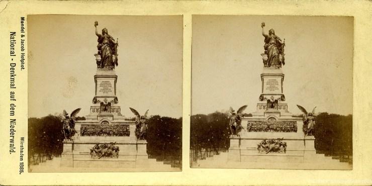 Images stéréosocpiques Mondel & Jacob Hesse 1885