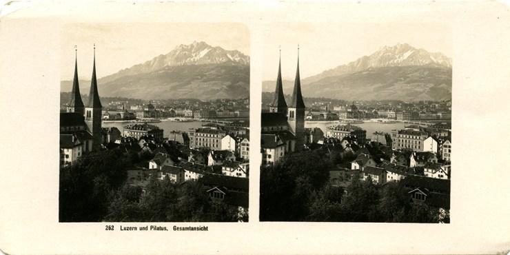Images stéréoscopiques Wehrli A. G. Lucerne
