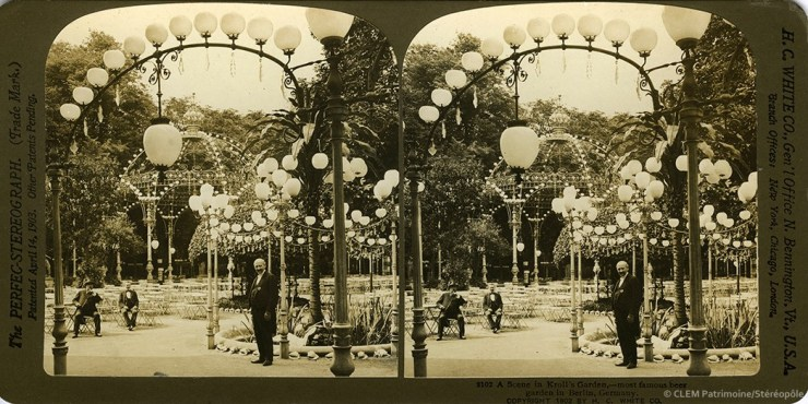 Images stéréoscopiques White Hawley C. The Perfec Stereograph 1902 Berlin