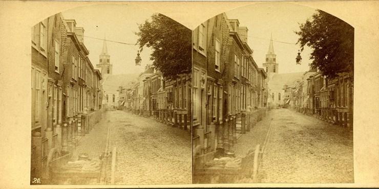 Images stéréoscopiques Oosterhuis Vues de Hollande Scheveningen