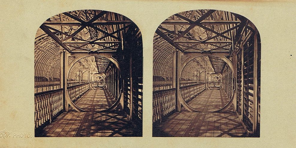 Images stéréoscopiques Williams Thomas Richard Crystal Palace