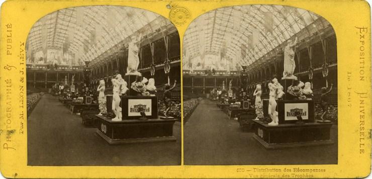 Images stéréoscopiques Archives nationales Exposition Universelle 1867 Léon et Lévy 530 F/12/11893