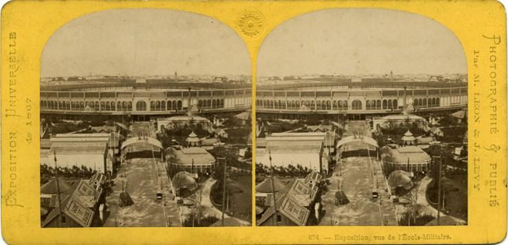 F/12/11893 Images stéréoscopiques Archives nationales Exposition Universelle 1867 Léon et Lévy 674