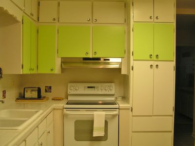 kitchen with convection oven