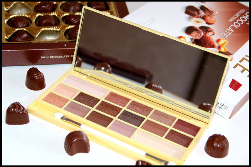 Makeup Revolution Naked Chocolate Eyeshadow Palette Review/Swatch (1/6)