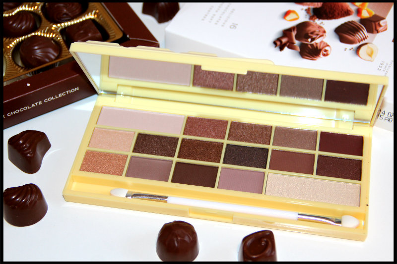 Makeup Revolution Naked Chocolate Eyeshadow Palette Review/Swatch (5/6)