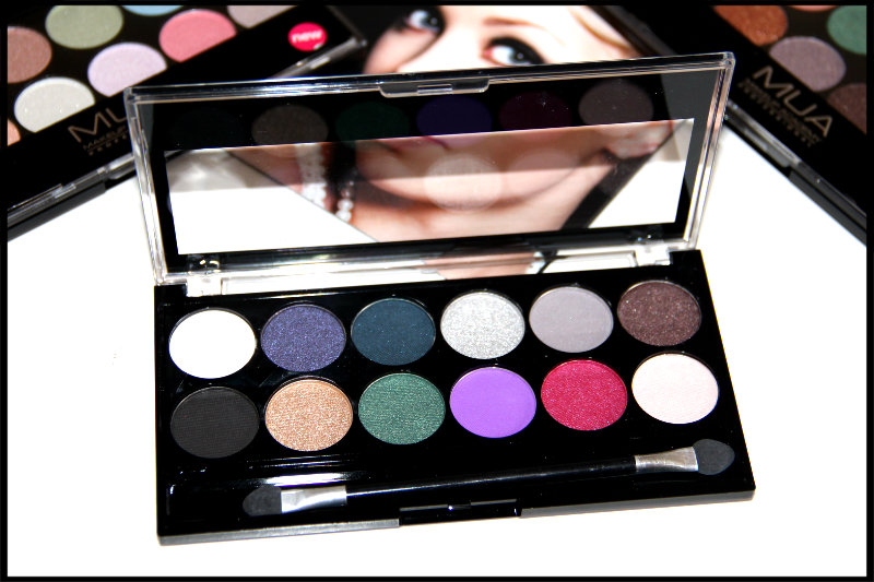 MUA Glamour Nights Eyeshadow Palette Review/Swatch (6/6)