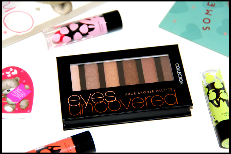 COLLECTION's Eyes Uncovered Nude Bronze Eyeshadow Palette Review/Swatch (2/6)