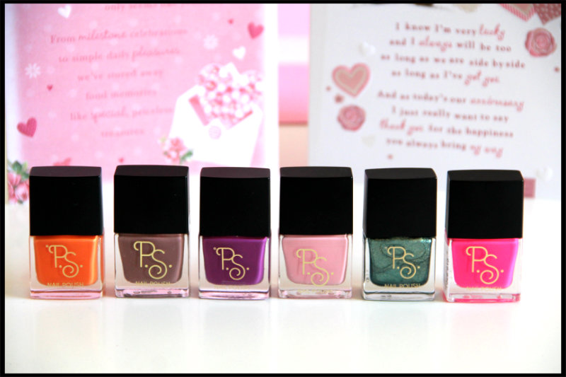 Primark P.S. Love Nail Polishes Review/Swatch (1/6)