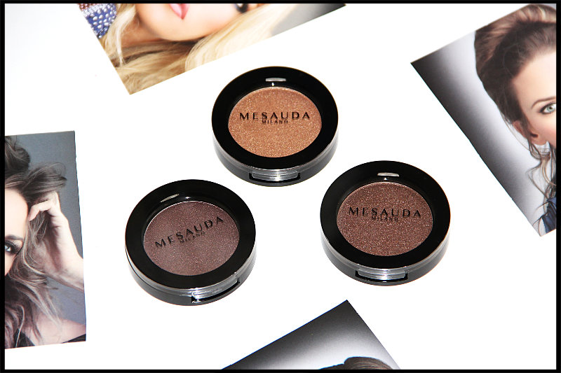 Mesauda Milano Cosmetics Pure Shadows In Pearly Compact Eyeshadows Review/Swatch (2/6)