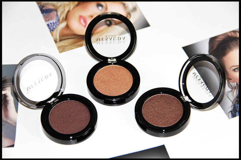 Mesauda Milano Cosmetics Pure Shadows In Pearly Compact Eyeshadows Review/Swatch (4/6)
