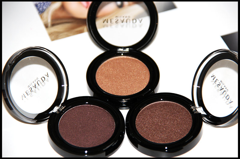 Mesauda Milano Cosmetics Pure Shadows In Pearly Compact Eyeshadows Review/Swatch (3/6)
