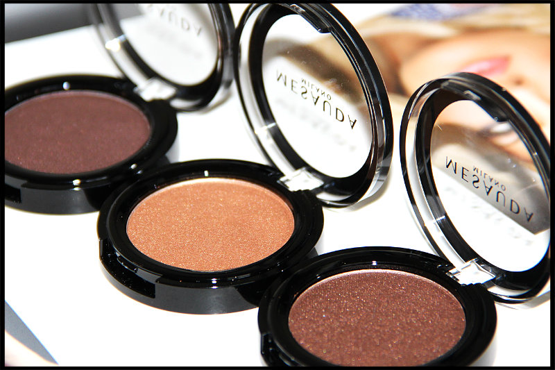 Mesauda Milano Cosmetics Pure Shadows In Pearly Compact Eyeshadows Review/Swatch (6/6)