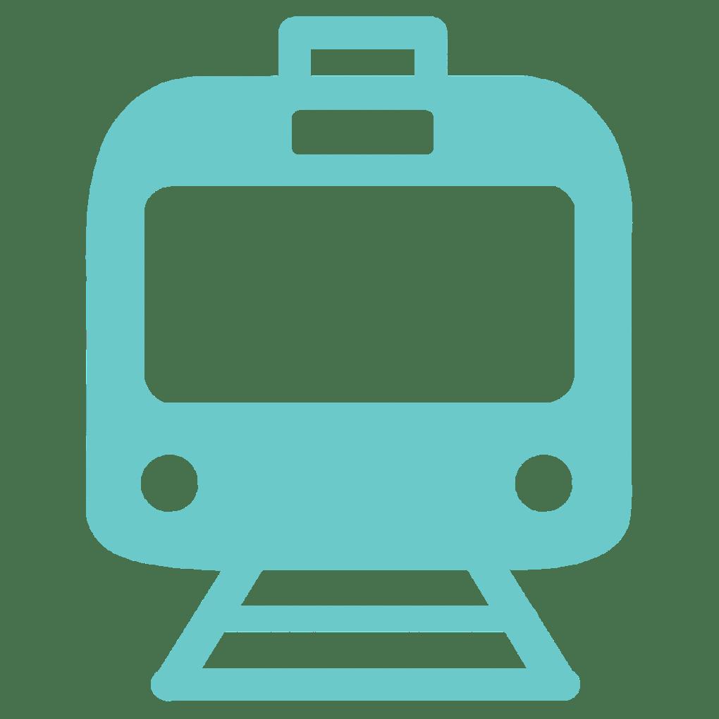 commuter train icon