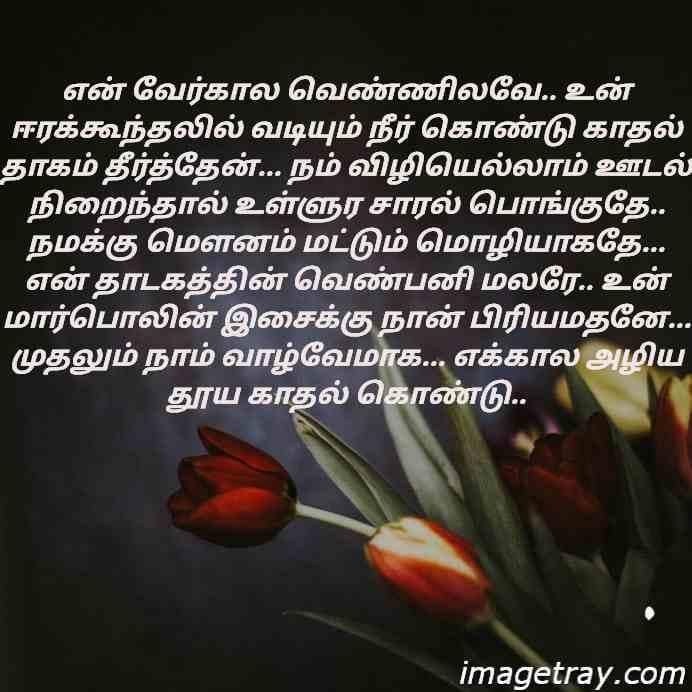 Tamil romantic WhatsApp dp images