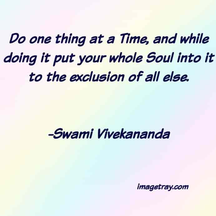 inspirational quote from swami Vivekananda quotes