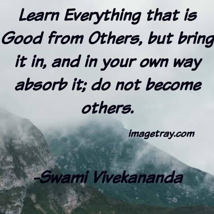best motivational Vivekananda words for whats app status