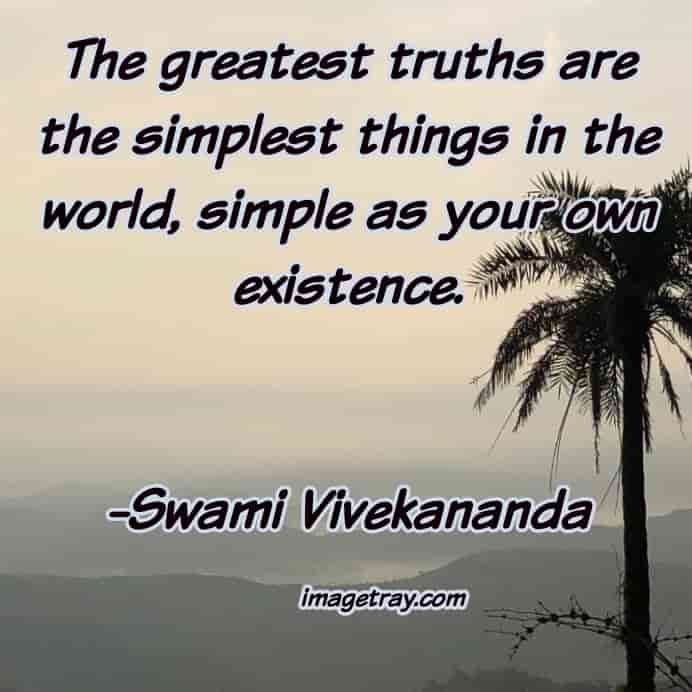 magic words with images from swami Vivekananda quotes