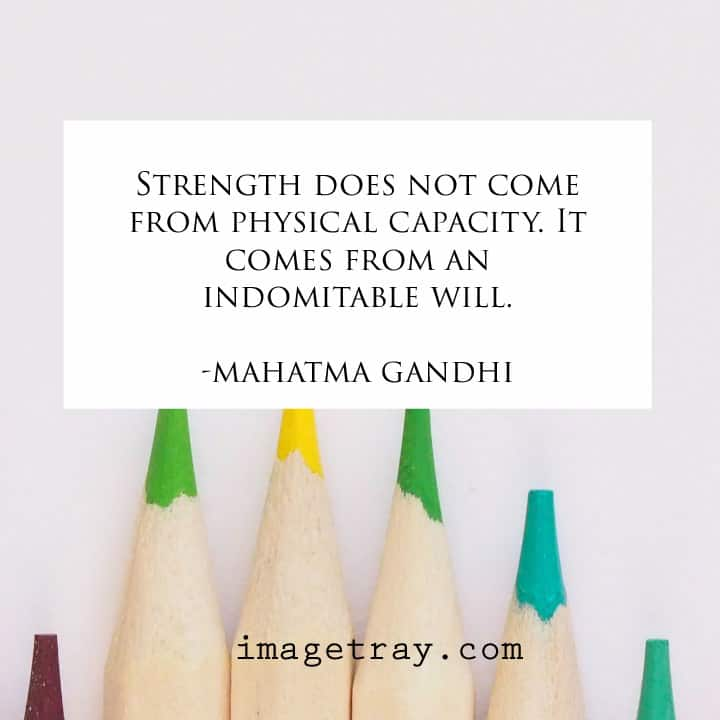 Motivational images with mahatma Gandhi quotes