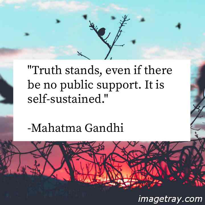 BEST quotes on truth by mahatma gandhi