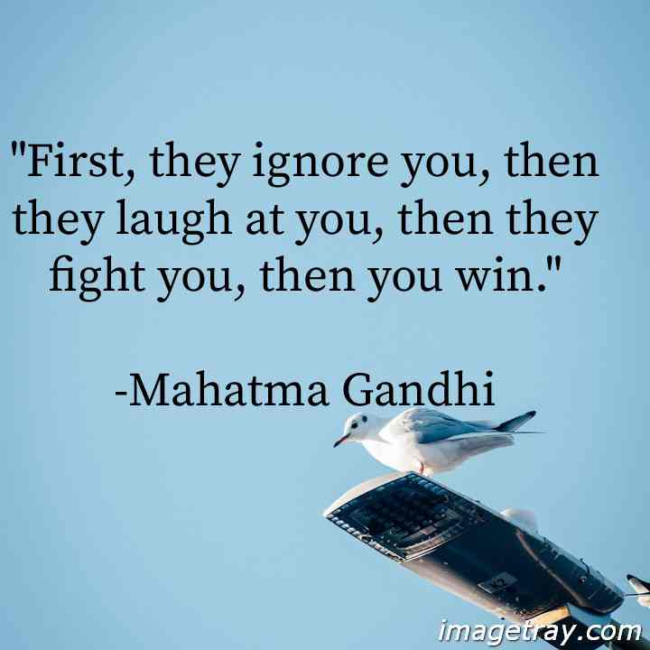 mahatma gandhi quotes for students