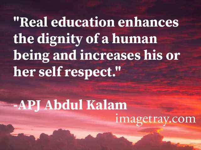 KALAM'S CONCEPT OF EDUCATION