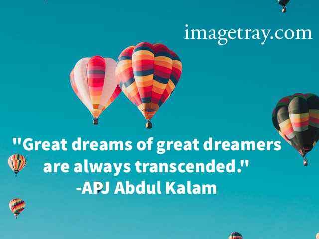 abdul kalam quotes about dream