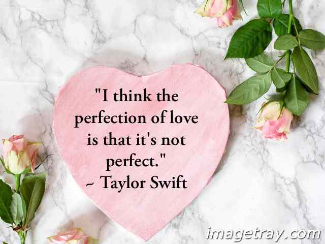 quotes with images on perfect love