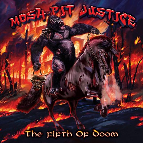 Mosh-Pit Justice - The Fifth Of Doom (2020) [FLAC] Download