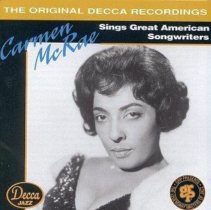 Carmen McRae - Sings Great American Songwriters (1993) [FLAC] Download