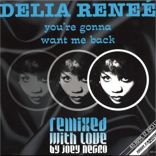 Delia Renee - Youre Gonna Want Me Back  Joey Negro Remixes (2020) [FLAC] Download