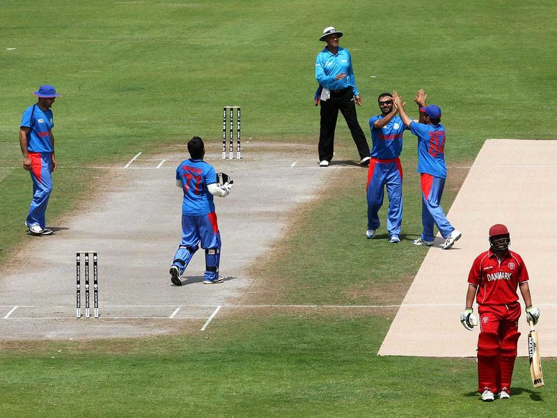 Afghanistan cricket players