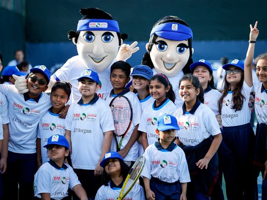 Deuce Report: UAE students gain tennis skills at JP Morgan