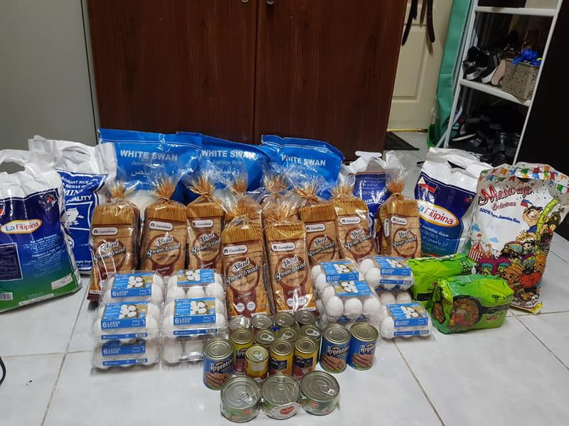 NAT 200602 food given to needy members-1591077418088