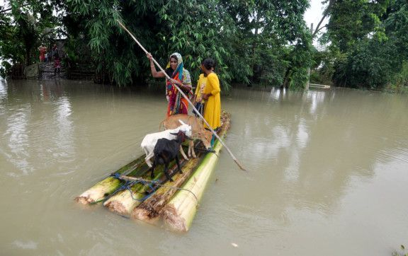 Photo of Photos: Assam flood situation worsens, 253,000 people affected