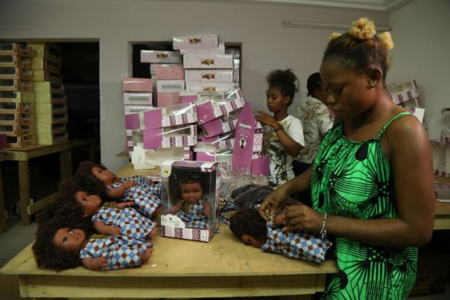 Ivory Coast company brings black dolls to African children |  Business-photos – Gulf News