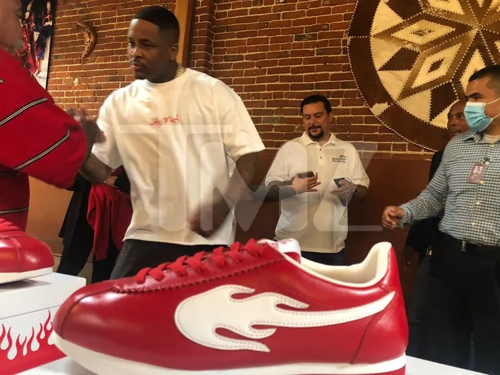 YG 'The Flame' Shoes Giveaway