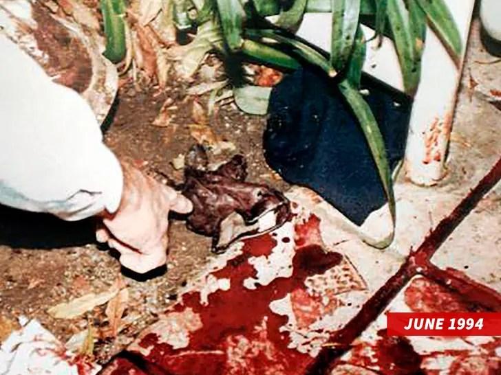 oj simpson crime scene