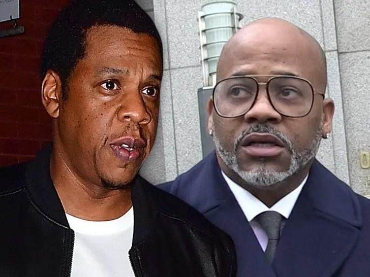 Jay Z and Damon Dash