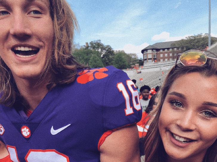 Trevor Lawrence and Marissa Mowry -- The Happy Couple