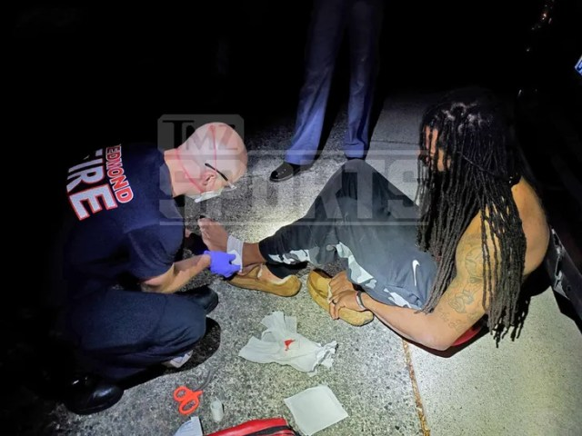 Richard Sherman and Cops Suffered Bloody Wounds In Altercation