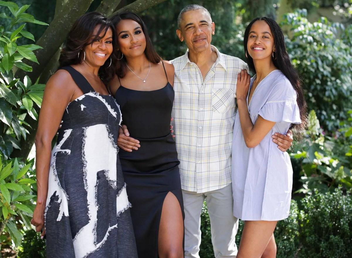 obama family thanksgiving 2019